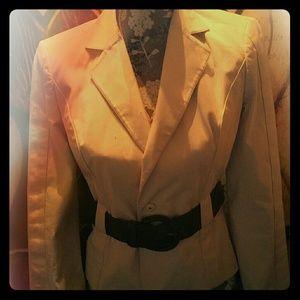 Victoria's Secret Creme Jacket sz 0